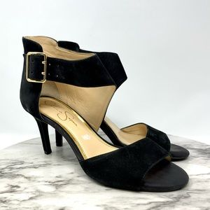 Jessica Simpson Marrionn ankle strap sandal pump 8